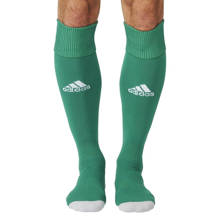 Zelené fotbalové štulpny Milano 16 Sock, Adidas - velikost 27-30 EU