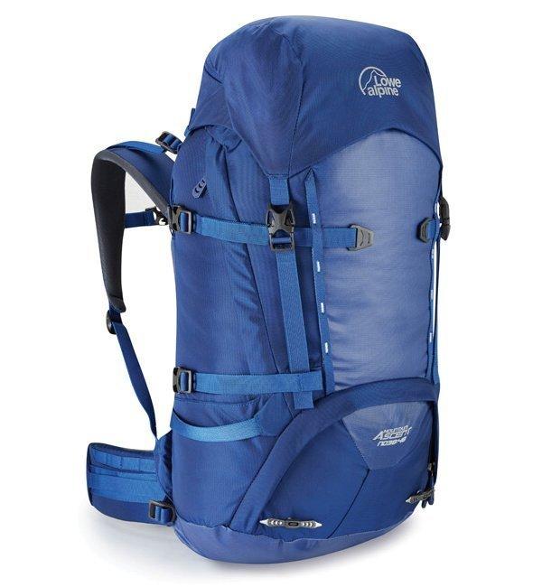 Modrý horolezecký batoh Lowe Alpine - objem 48 l