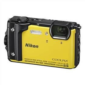 Žlutý outdoorový fotoaparát Coolpix W300, Nikon