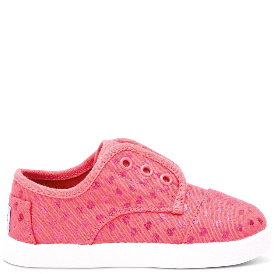 Růžové dětské tenisky Toms - velikost 22 EU