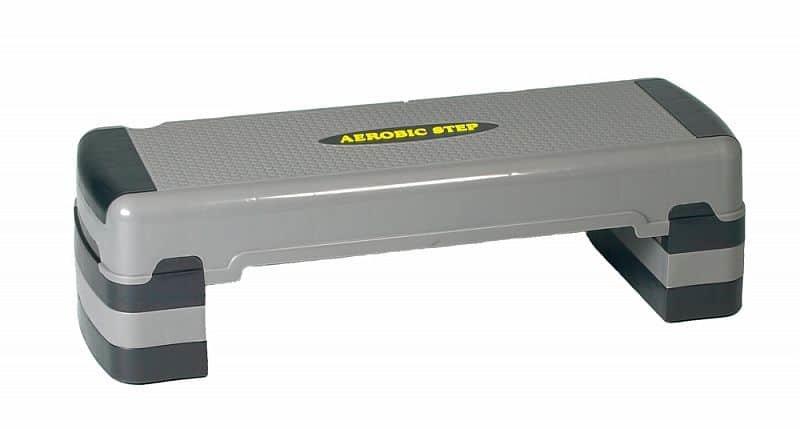 Černo-šedý aerobic step Spartan