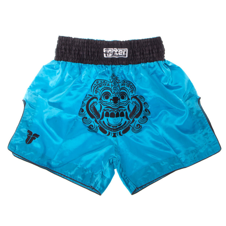 Modré thaiboxerské trenky Fighter