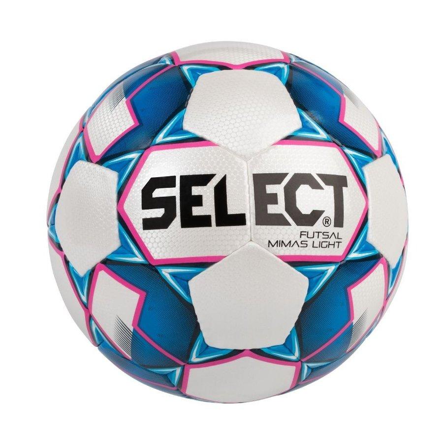 Bílo-modrý futsalový míč FB Mimas, Select - velikost 4