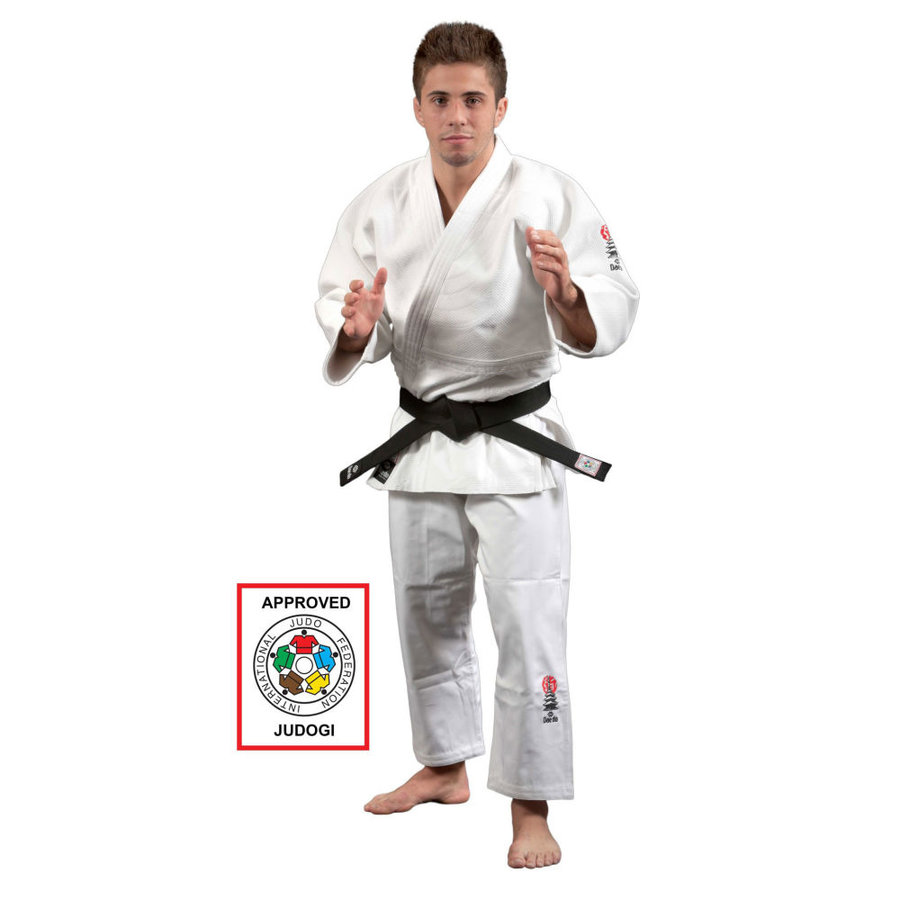 Bílé kimono na judo Hayashi