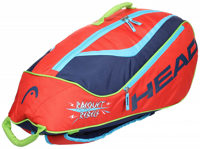 Tenisová taška - Junior Combi 2019 dětská taška na rakety barva: červená-modrá