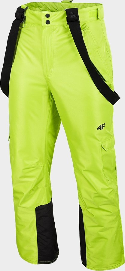 Zelené pánské lyžařské kalhoty 4F - velikost XXL