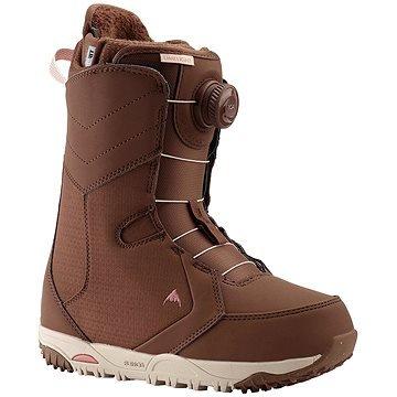Hnědé dámské boty na snowboard Burton