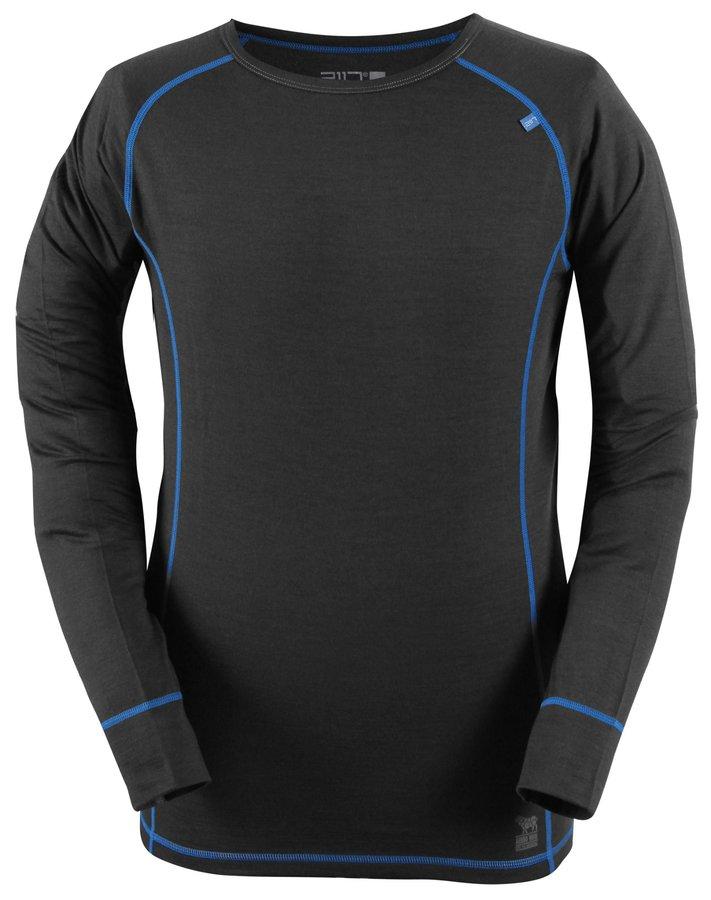 Termo tričko - ULLANGER - pánský top s dl.ruk. (merino vlna ) - šedý