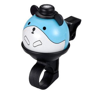 Modrý dětský zvonek na kolo Myška First BIKE