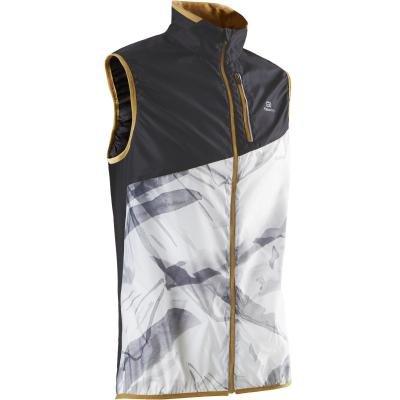 Bílá pánská běžecká vesta Evadict - velikost M