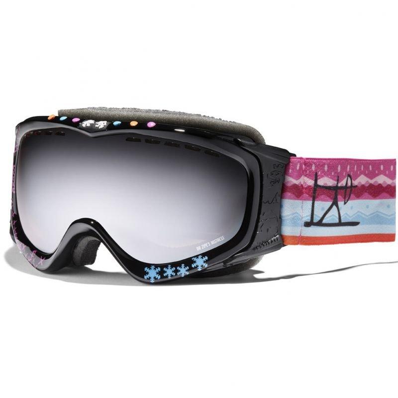 Černé pánské lyžařské brýle Dr.Zipe