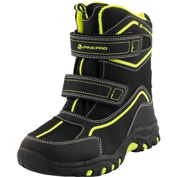 Černé dětské zimní boty MUNDO, Alpine Pro