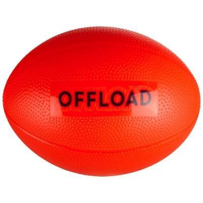 Červený míč na ragby Resist Mini, Offload