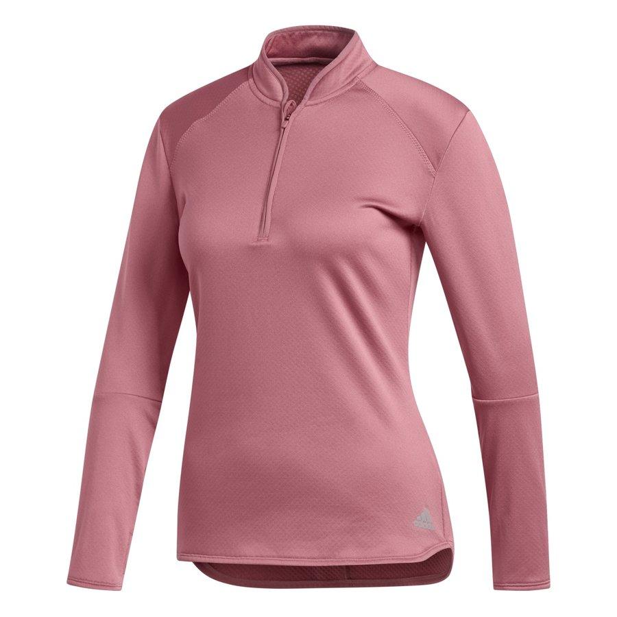 Růžová dámská běžecká mikina Rs Cw, Adidas - velikost XS
