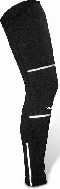 Černé návleky na nohy - velikost XL