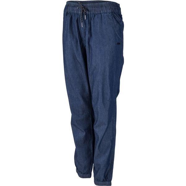 Modré dámské tepláky Willard - velikost S