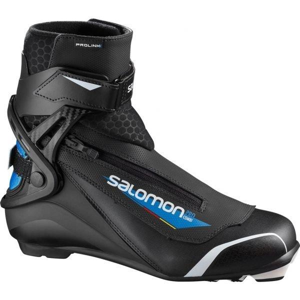 Černo-modré pánské boty na běžky Salomon