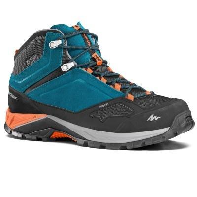 Černo-modré pánské trekové boty Quechua