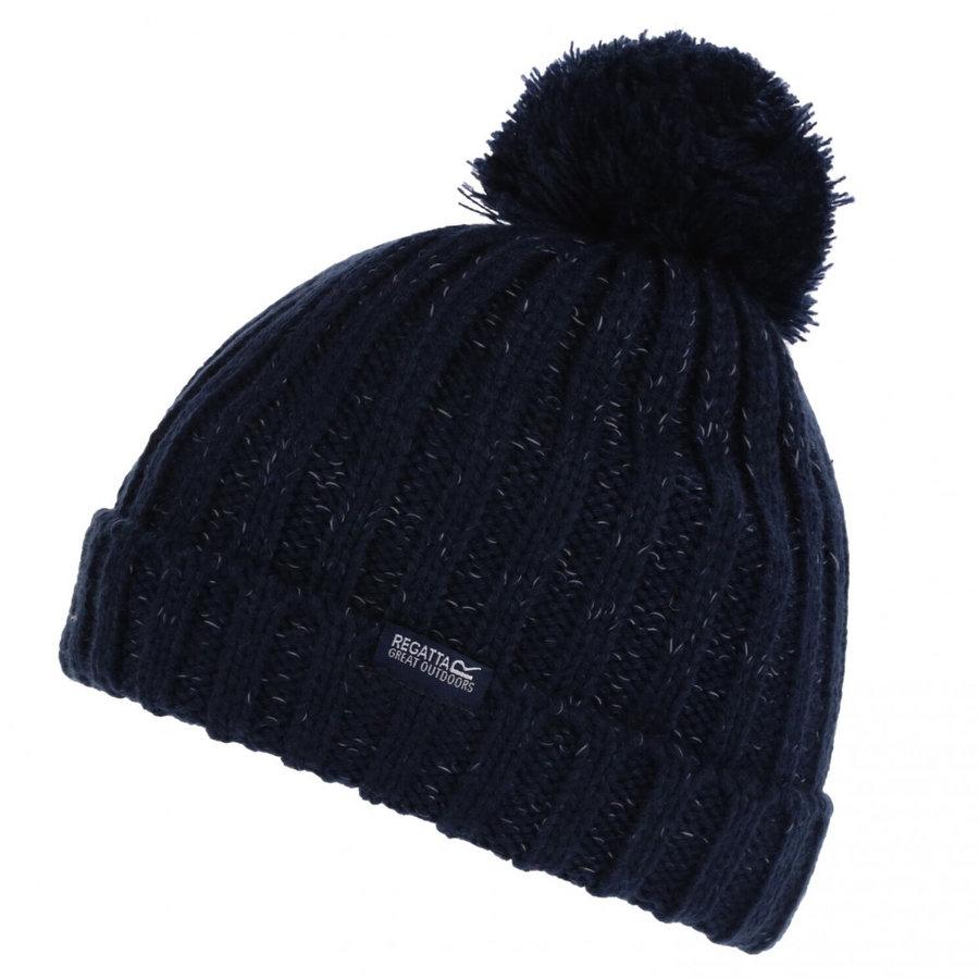 Modrá dětská zimní čepice Regatta