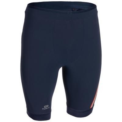 Modré 3/4 pánské kalhoty na atletiku Kalenji