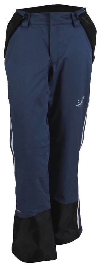 Modré dámské lyžařské kalhoty 2117 of Sweden - velikost 38