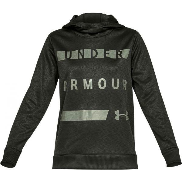 Černá dámská mikina s kapucí Under Armour
