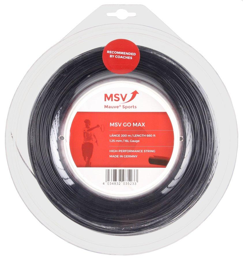 Tenisový výplet Go Max, MSV - průměr 1,20 mm a délka 200 m