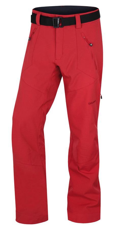Červené pánské turistické kalhoty Husky