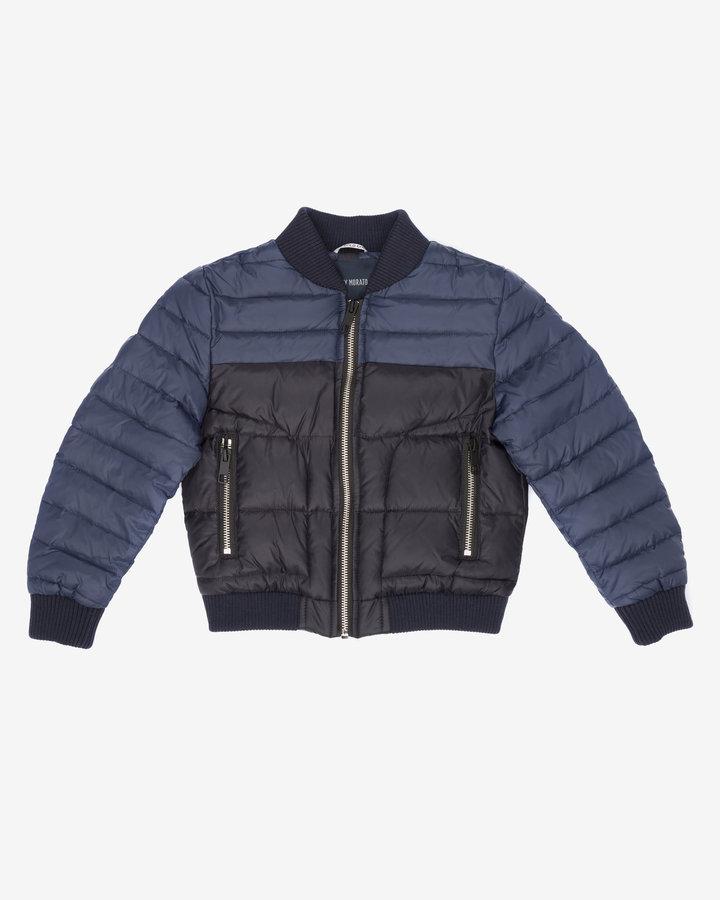 Modrá zimní chlapecká bunda Antony Morato - velikost 116