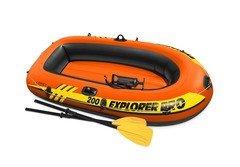 Oranžový nafukovací člun pro 2 osoby Explorer Pro 200, INTEX