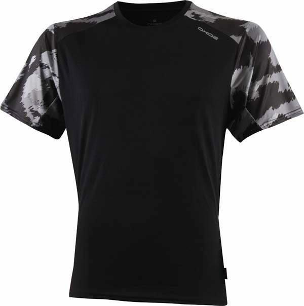 Černé pánské běžecké tričko 2117 of Sweden - velikost L