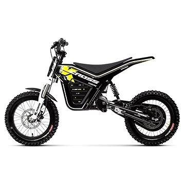 Černá dětská elektrická motorka Cross, Kuberg