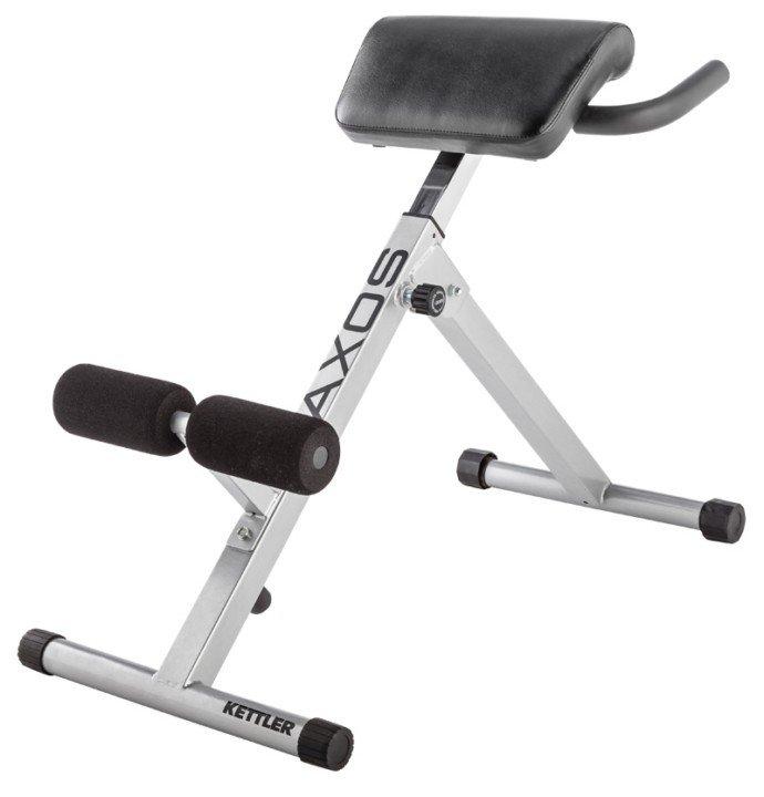 Hyperextenze - Posilovací lavice na záda KETTLER Back Trainer + zajištění servisu u Vás doma ZDARMA