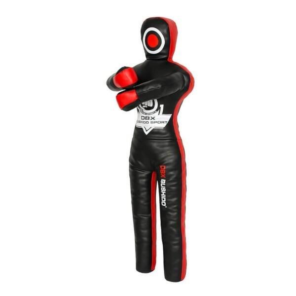 Černo-červený boxovací trenažér Bushido