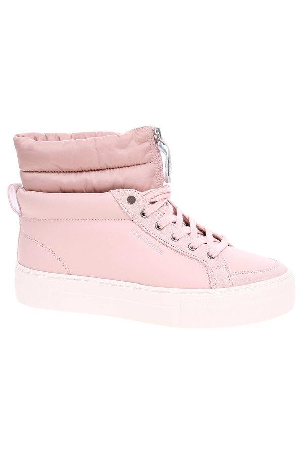 Růžové dámské kotníkové boty Skechers - velikost 38,5 EU