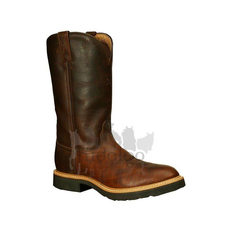 Hnědé zimní jezdecké boty Twisted Boots