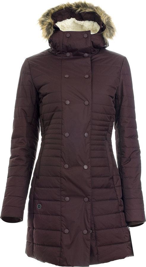 Černá zimní dámská bunda s kapucí Woox