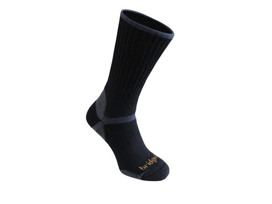 Černé pánské trekové ponožky Bridgedale