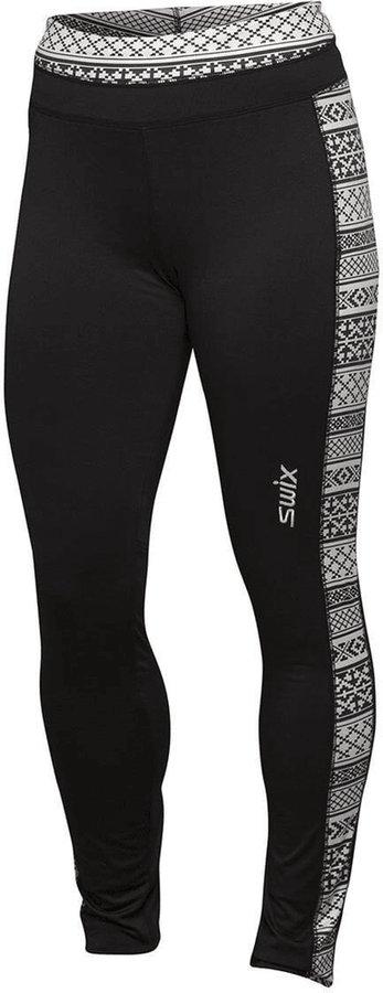 Černé dámské kalhoty na běžky Swix