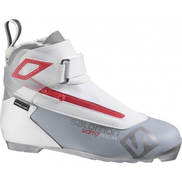 Bílé dámské boty na běžky Salomon
