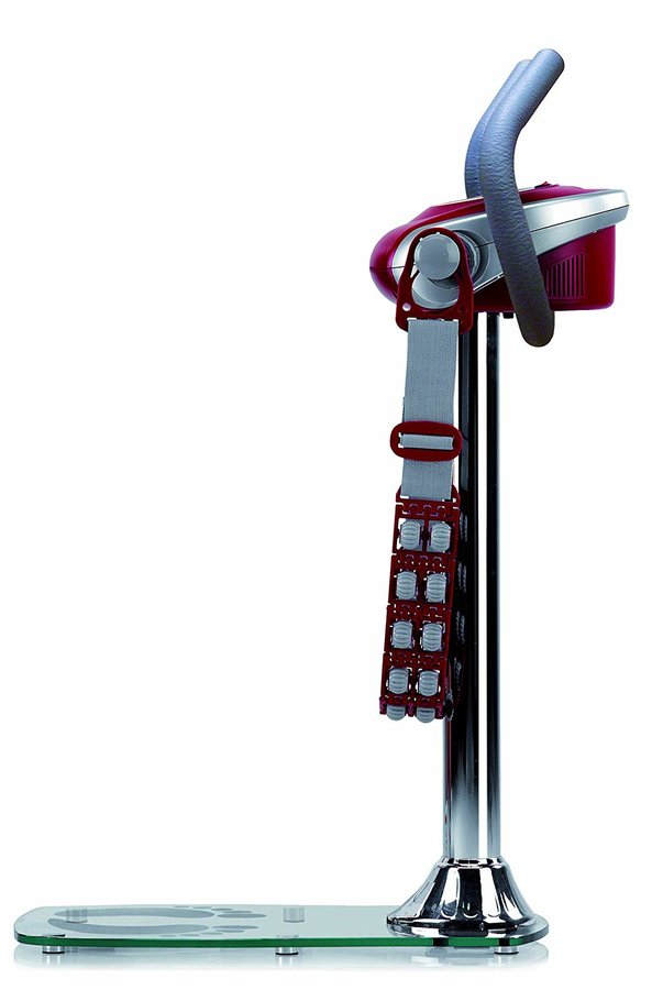 Stříbrný vibromasážní stroj Tactiletonic, BH Fitness - nosnost 100 kg
