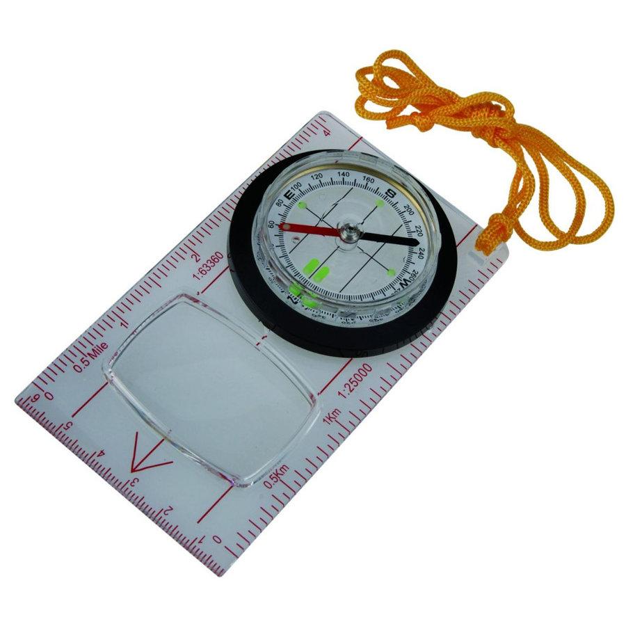 Kompas - Mapový kompas AceCamp Fluorescent