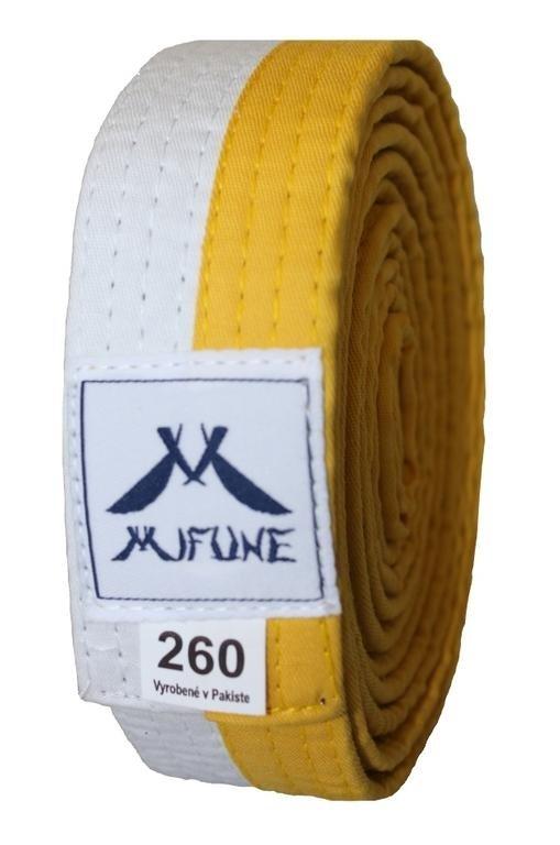 Žlutý judo pásek Musashi