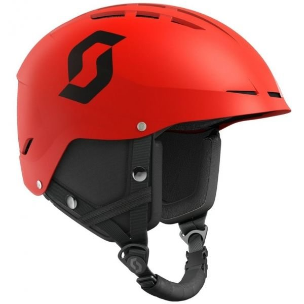 Červená lyžařská helma Scott