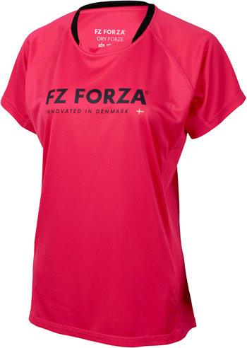 Růžové dámské funkční tričko s krátkým rukávem FZ Forza