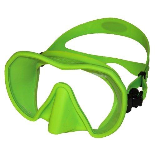 Zelená potápěčská maska Maxlux S, Beuchat