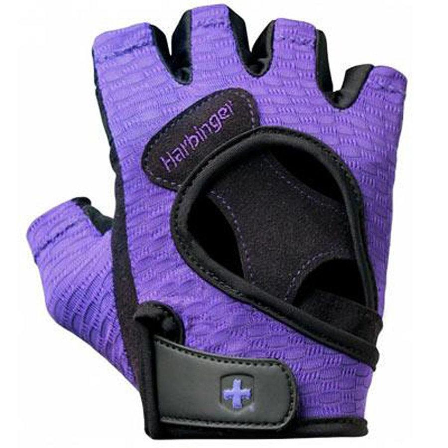 Fialové dámské fitness rukavice Harbinger