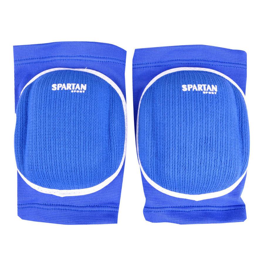 Modré volejbalové chrániče na kolena Spartan