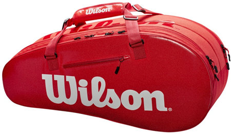 Tenisová taška - Wilson Super Tour 2 Compartment Small 2019 Red
