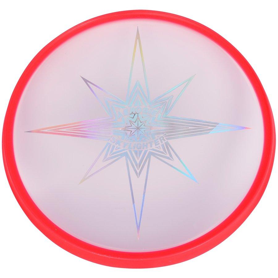 Červené plastové frisbee Aerobie - průměr 30 cm